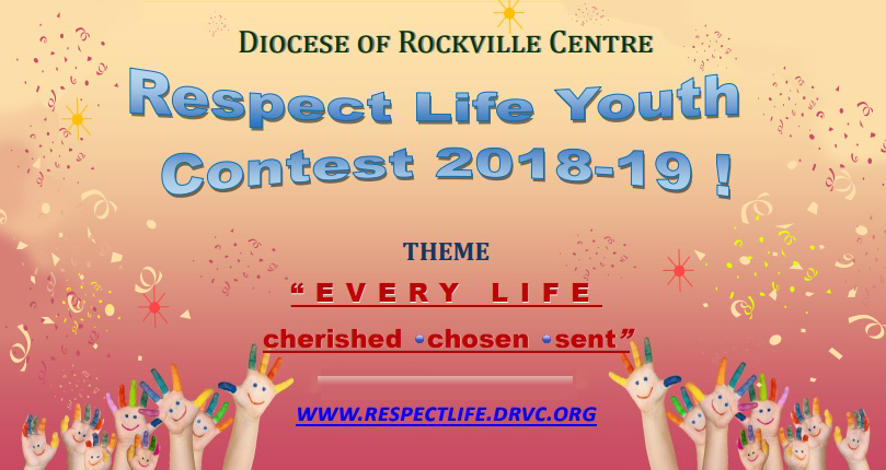 Image result for respect life clipart DIOCESE OF ROCKVILLE CENTRE NY