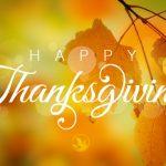 Happy Thanksgiving – Contento Acción de Gracias